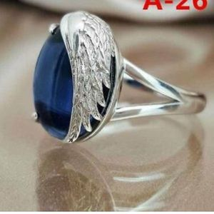New 925 Silver Gemstone Ring Jewelry Sz 6-10